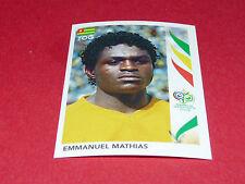 517 EMMANUEL MATHIAS TOGO PANINI FOOTBALL GERMANY 2006 WM FIFA WORLD