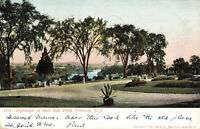 Postcard Esplanade At East Side Park Paterson New Jersey Posted 1905