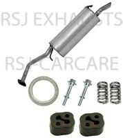 ETY682 [TOYOTA PRIUS 1.5 2004-2010] EXHAUST SILENCER REAR BACK BOX + FITTING KIT