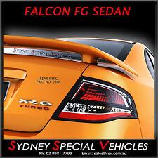 NEW XR6 XR8 REAR WING BOOT SPOILER FOR FG & FGX FALCON SEDANS ABS  XR PRIMED