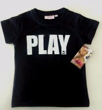 BNWOT BILLABONG KIDS GIRLS KINDY PLAY T SHIRT (BLACK) SIZE 4