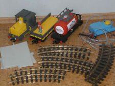 Playmobil Eisenbahn Set ähnl. 4024 Volcano Lok und 2 Waggons