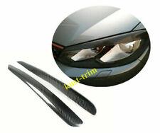 For VW Golf 6 VI Mk6 2009-2012 Real carbon fiber Headlight Eyebrows Eyelids Trim