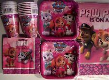 PAW PATROL GIRL -Nick Jr. Birthday Party Supply Pack Kit 16