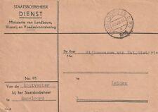 Dienst 91, Houtvester bij het Staatsbosbeheer te Emmeloord, (NOP) 30/8/1956