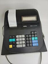Royal 52104Y-FE 120DX Electronic Cash Register Black Used Tested-Working No Keys
