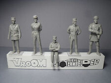 5  FIGURINES 1/43  SET  318  POLICE  GENDARMERIE  NATIONALE  VROOM  UNPAINTED