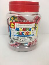 Alex Toys Artist Studio Magnetic ABC & 123 Chubby Letters Numbers Kit New