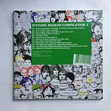 KITSUNE MAISON - VARIOUS COMPILATION 3 * LP VINYL * FREE P&P UK * KITSUNE LP007