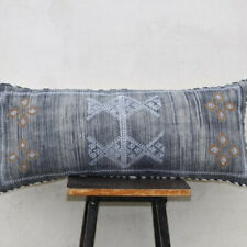 Moroccan Sabra Silk Inspired Handmade Cotton Pillow Cushion Cover
