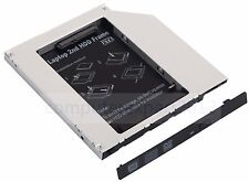 2nd HDD SSD Hard Drive Caddy for MacBook Pro A1181 A1211 A1226 swap CW-8221 DVD