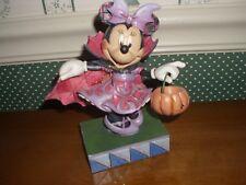 Disney Traditions/Jim Shore-Figurine-Halloween Violet Vampire Minnie-New-2018