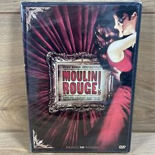 Moulin Rouge (Dvd, 2001) Widescreen Edition Nicole Kidman Brand New Sealed