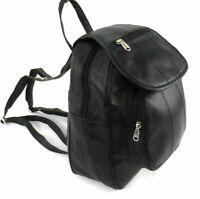 Ladies REAL GENUINE LEATHER Rucksack  Backpack Shoulder Fashion Hand Bag uk