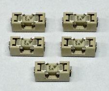 5 Stück 5A 125V Littelfuse 154005 Sicherungen mit Halter - Aufbaumontage (M2042)