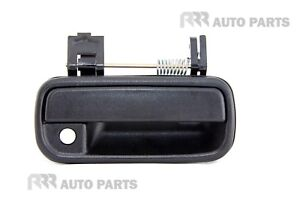 FOR TOYOTA HILUX 2/4WD 08/97-1/05 FRONT OUTER DOOR HANDLE BLACK - RIGHT SIDE