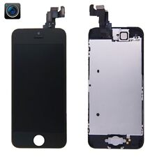 GLS DISPLAY+TOUCH SCREEN APPLE IPHONE 5C +SPEAKER+TASTO NERO A1456 A1529 A1532