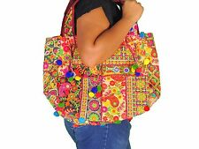 Multicolor Fine Banjara Embroidery Luxury Ladies Shoulder Handbag Ethnic Bag