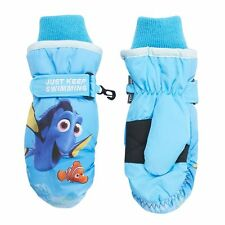 NEW IN Seal Disney Finding Dory Girls glove Size 4-6x Blue