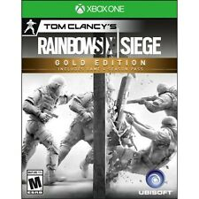 NEW Tom Clancy's Rainbow Six Siege Gold Edition Microsoft Xbox One Video Game