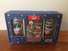 *SEALED NEW* 1992 VINTAGE RARE Pepsi Scrooge VHS Box Set Collector Pepsi Glasses