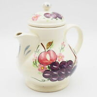 Vintage Estate Circa 1940 Blue Ridge China Southern Potteries Grape Vine Teapot