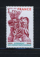 FRANCIA/FRANCE 1978 MNH SC.1620 Polish Veterans of WW II