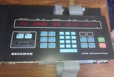 Beckman L8-M Centrifuge replacement Front Panel and Controller circuit board
