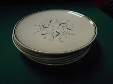 Beautiful Vintage Retired LADY EMPIRE China by PERMACAL..6 Bread-Salad Plates
