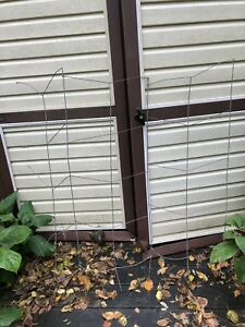 Garden Trellis System 3 Panel For Climbing Plants Tomato Cage
