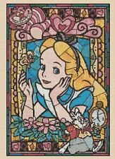 Counted Cross Stitch ALICE Stained Glass - COMPLETE KIT #10-51 KIT