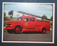1954 FORD V8 FIRE ENGINE     Colour Photocard