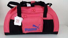 """NWT PUMA SPORT LIFESTYLE 20"""" Coral/Blue/Black Accelerator Duffel Gym Bag Luggage"""