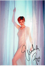 EMILIA FOX - Signed 12x8 Photograph - TV - SILENT WITNESS
