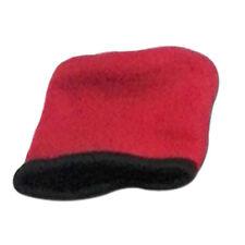 Sprigs Banjees Wrist Wallet Classic Reversable Fleece Zippered Red Black NEW