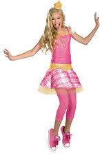 Aurora Tween Crown Girls Costume Pink Halloween Fancy Dress Up Disguise