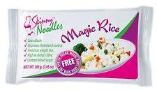 Skinny Noodles-Magic Rice 200g,Shirataki,Konjac,Slim, Dukan, Atkins,Gluten Free