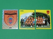 PANINI FOOT 98 STADE LAVALLOIS LAVAL TANGOS COMPLET FOOTBALL SAISON 1997-1998