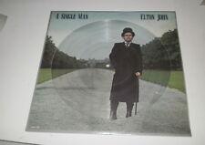 ELTON JOHN - A SINGLE MAN -  LP LIMITED PICTURE DISC EDITION - 1978 - MCA LP -