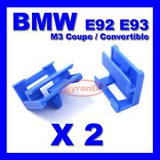 BMW 3 Series E92 E93 M3 Coupe Cabrio Lato Davanzale Gon na Trim Clip in plastica