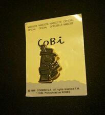 COBI ~ Barcelona 1992 Olympics Mascot Lapel Pin ~ Vintage Goldtone NEW Pin!