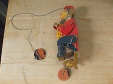 Vintage Dolly Toy Co. 3-D Cardboard Monkey with Pull String Movement