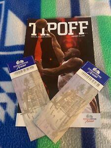NBA TIPOFF PROGRAM (2) GAME TICKETS MIAMI HEAT VS MEMPHIS GRIZZLIES SHAQ DWADE