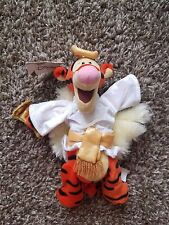 "Disney Store 2000 Choir Angel Tigger 9"" Bean Bag Plush NWT - Winnie the Pooh"