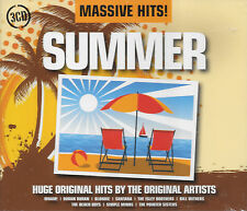Compilation MASSIVE HITS ! SUMMER - 3 cds