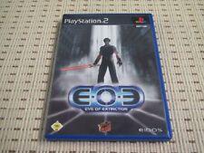 EOE Eve of extinction para PlayStation 2 ps2 PS 2 * embalaje original *