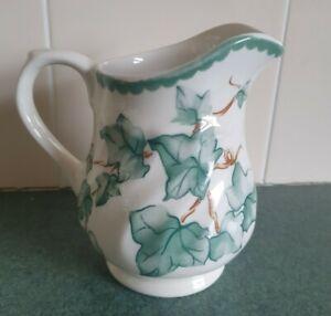BHS Country Vine Ivy Leaves Pattern - Milk or Cream Jug