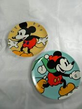 2 Disney Classic Collectors Plates Mickey Mouse by Brenda White Vintage Japan