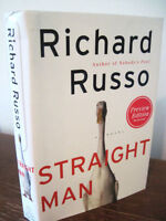 Straight Man Richard Russo Advance Preview 1st Edition Fiction Novel