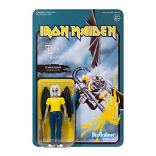 """IRON MAIDEN Flight Of Icarus Eddie Action Figure Toy ReAction 3.75"""" Collectable"""